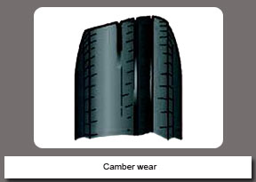 Camber wear
